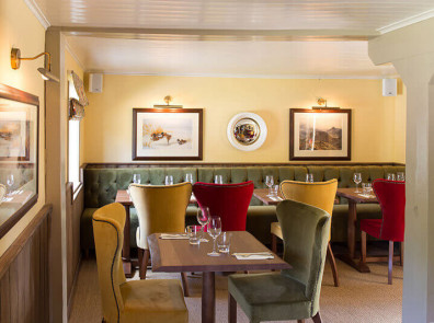 The Honingham Buck Restaurant Interior