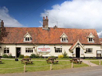 The Honingham Buck Outside